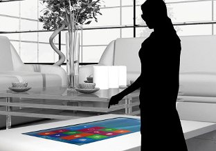 foyer multi touch display