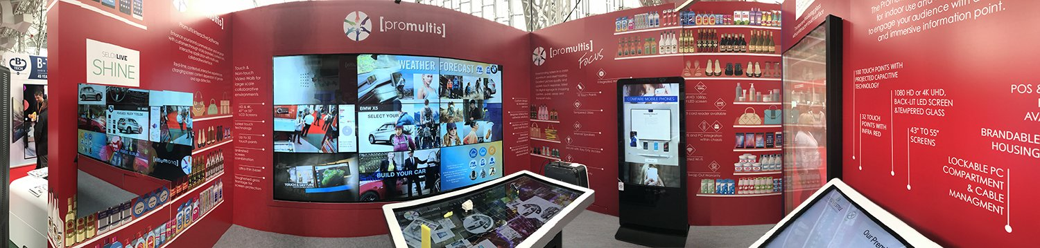 Promultis-stand-at-the-Retail-Digital-Signage-Expo