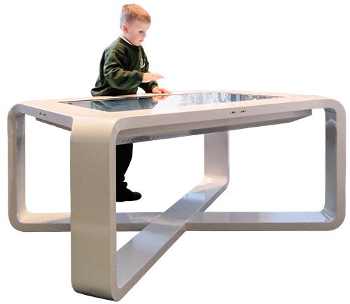 child at X-table