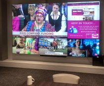 Promultis videowall in Crowne Plaza hotel