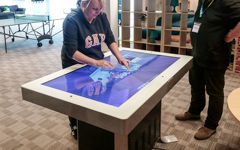 HTC Photo 1- Women Interacting with table