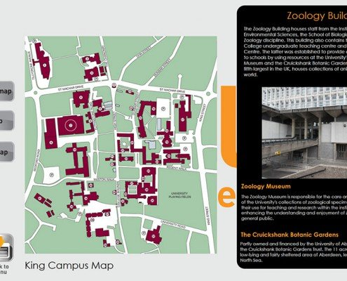 Map App- King Campus Map
