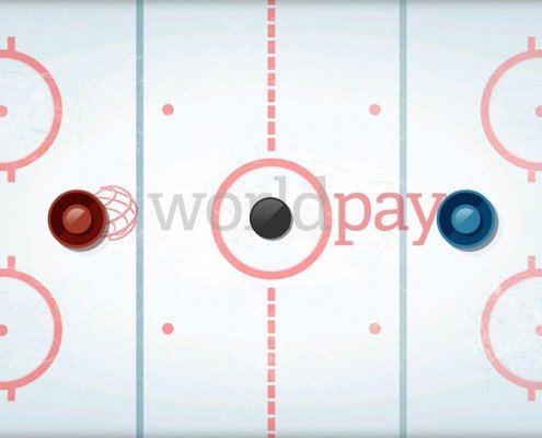 snowflake- ice hockey re skinned for Worldpay