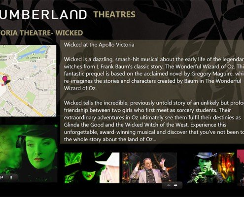 Theatre- Wicked Screen