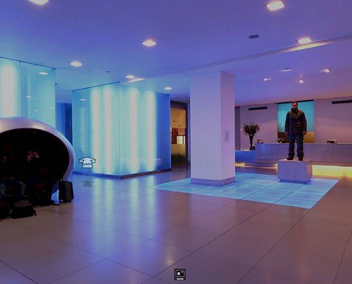 Virtual tour of the hotel