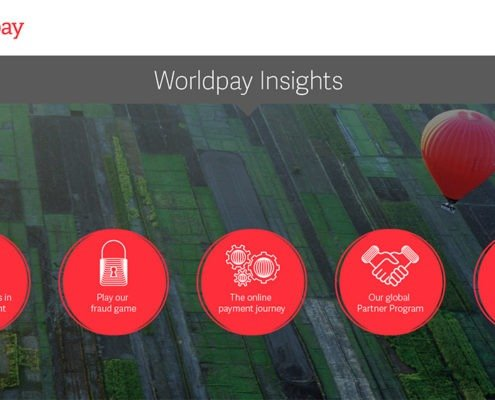 worldpay insights menu