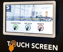 S:CRAFT multi touch screen presentation