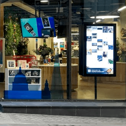Window touch screen boxtop