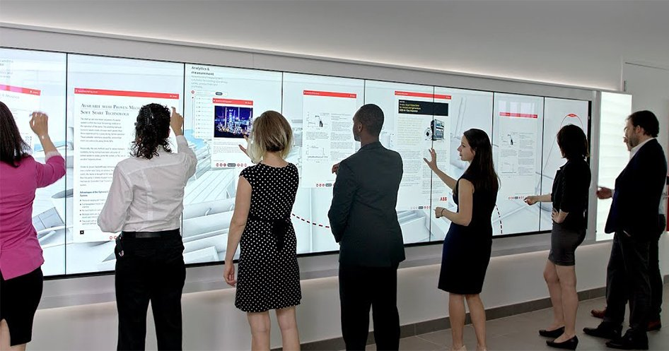 Promultis blox video wall screens