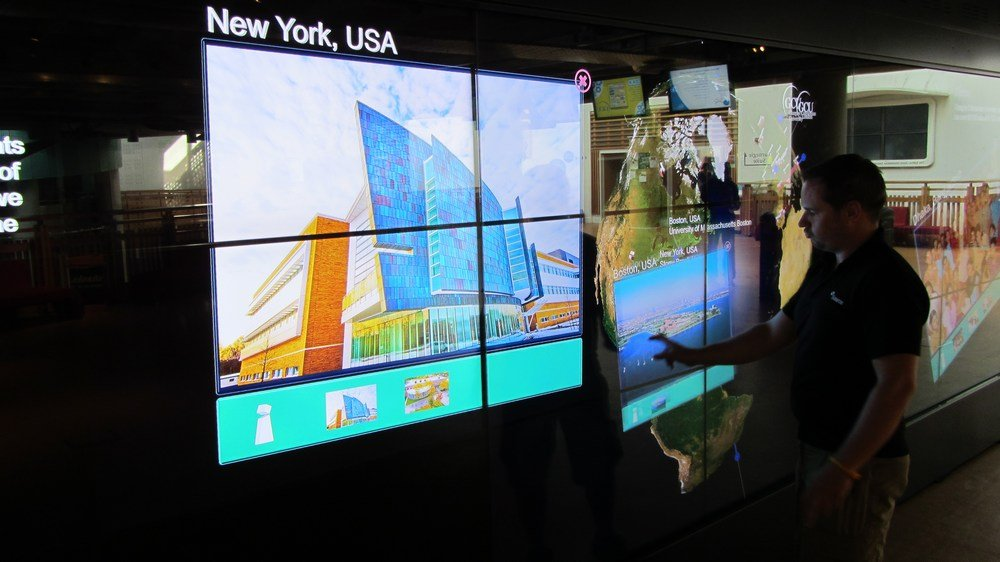 Promultis Video Wall - Promultis Multitouch Technology