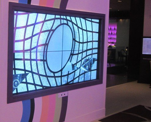 The Cumberland Hotel in London and see our stunning 2x2 touch Video Wall with Gesture control