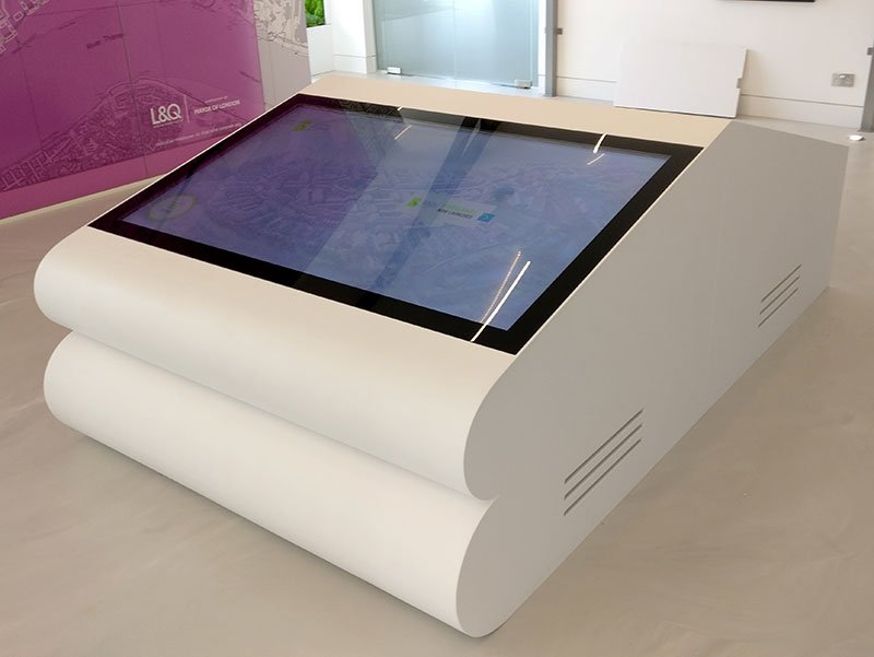 Promultis insert touch screen