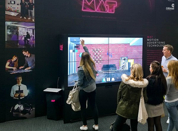 Multitouch Video Wall