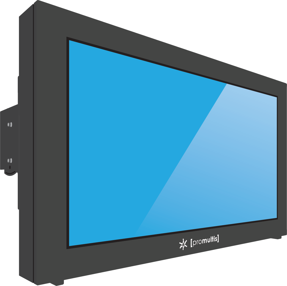 Promultis outdoor screen with aircon
