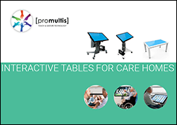 interactive tables for care homes