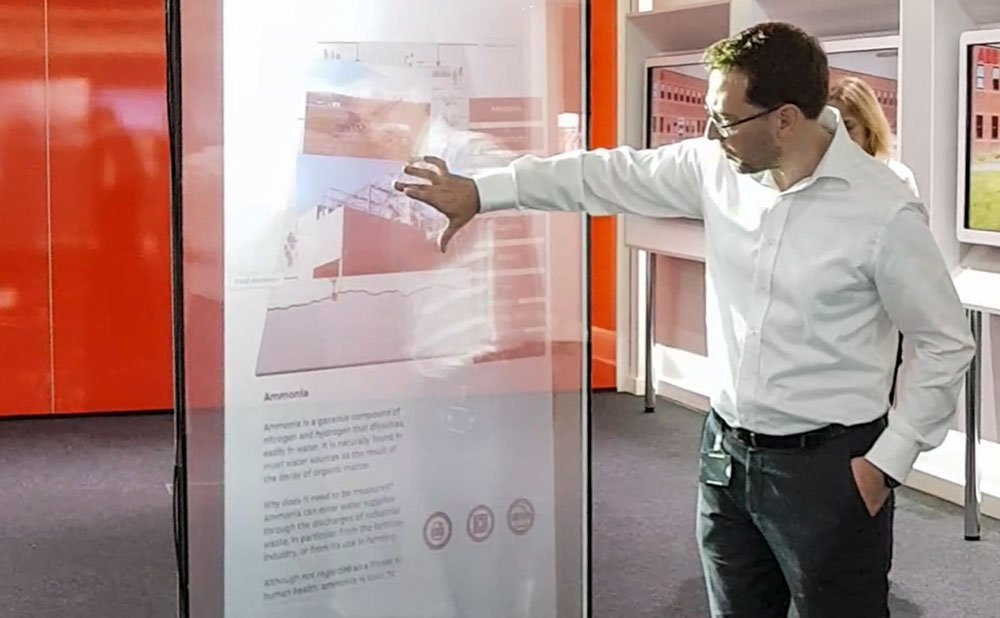 Interactive Window Touch Glass
