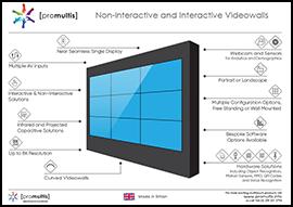 Videowall datasheet link