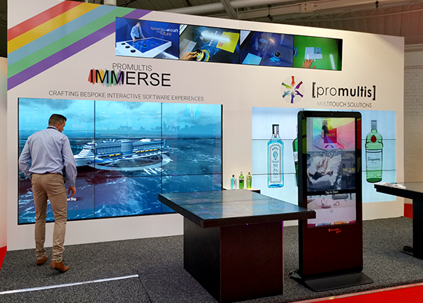 Promultsi IMMERSE Retail Expo stand