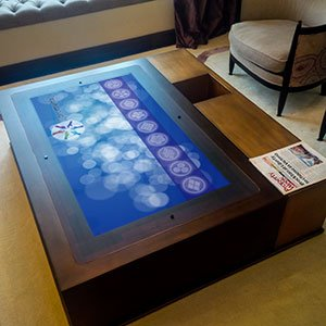 Galliard coffee touch table