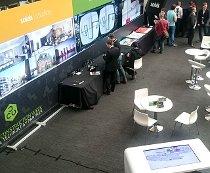 Souluis exhibition Touch screens