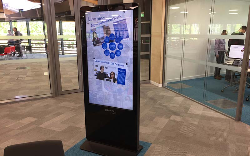 Promultsi Totem Focus at Tesco Innovation Center