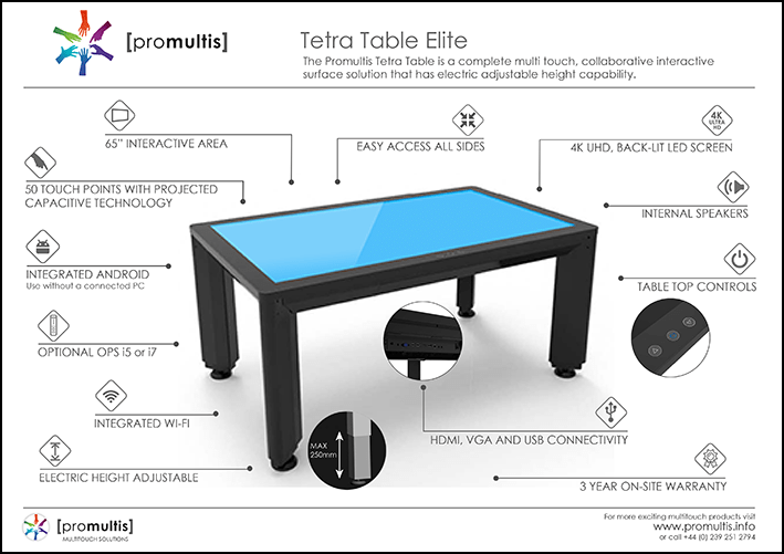 Tetra Touch Table Elite