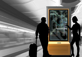 transport interactive screen