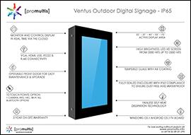 ventis digital screen