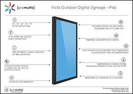 vista digital outdoor screen