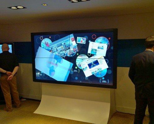 Main screen on videowall