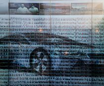 Touch videowall for BMW
