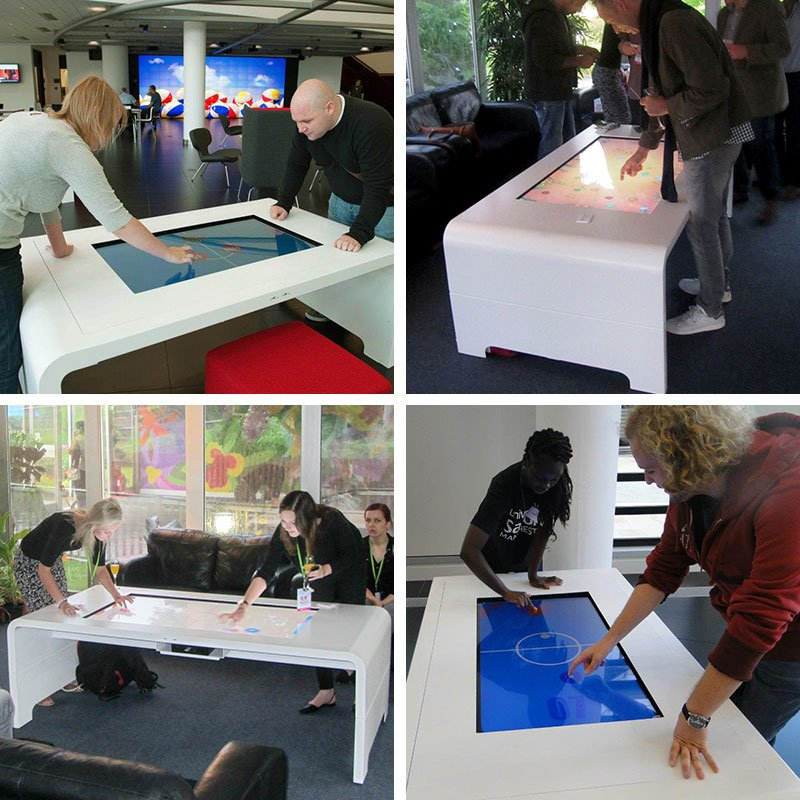 Promultis touch table for entertainment
