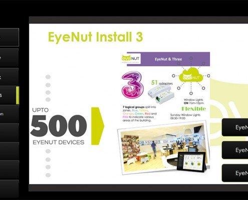 Eyenut Install Section