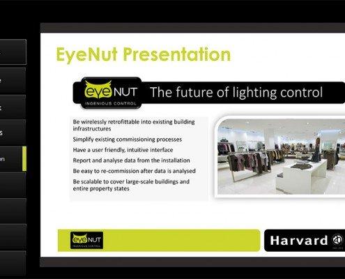 Eyenut Presentation Section