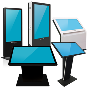 Promultis totems and kiosks