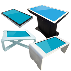 Promultis touch tables
