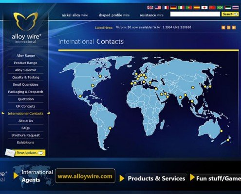 International Contact Site