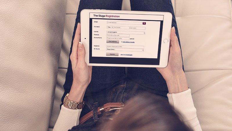 ipad registration software