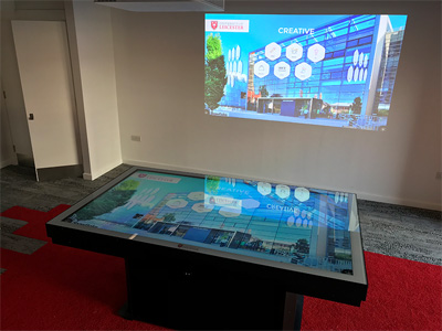 Sky Zone Interactive Table