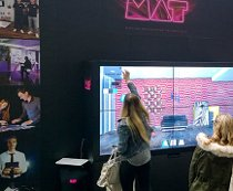 Motion Advertising Technology multi touch screen