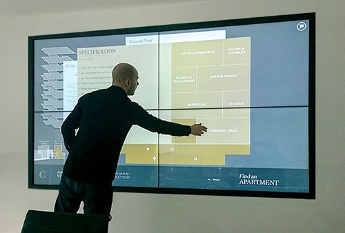 Promultis-Multitouch-Videowall
