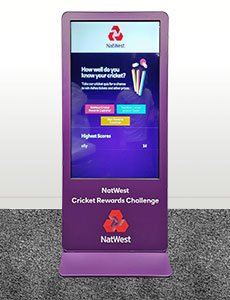 Totem Focus with NatWest wrap
