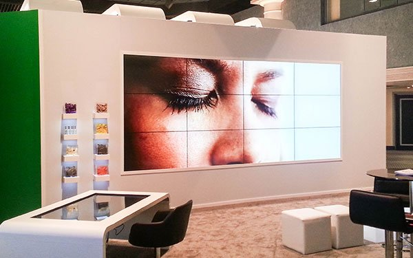 non touch video wall