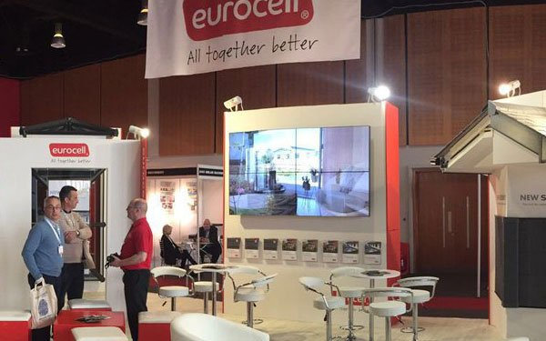 non touch video wall for eurocell