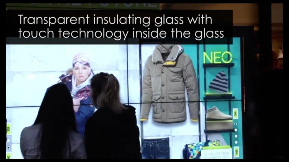 Promultis Interactive Window Glass