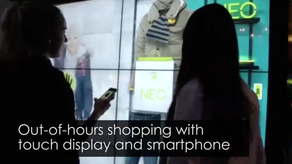 Promultis Interactive Touch Glass