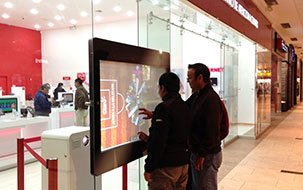 Interactive window foils